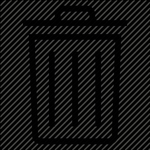 Delete, Dustbin, Remove, Trash Icon