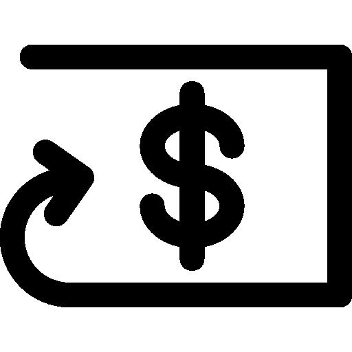 Refund, Delete Icon