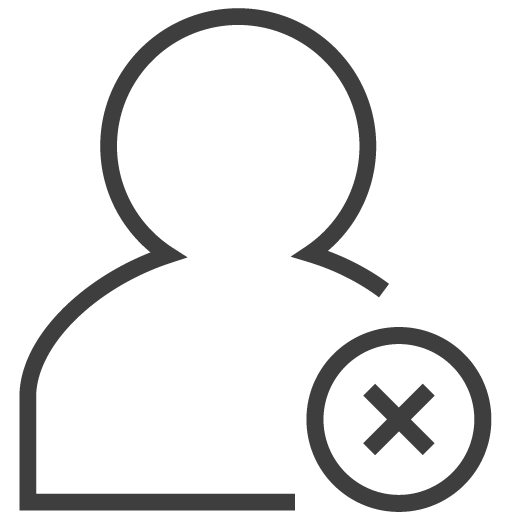 User Delete Icon Silky Line User Iconset Custom Icon Design