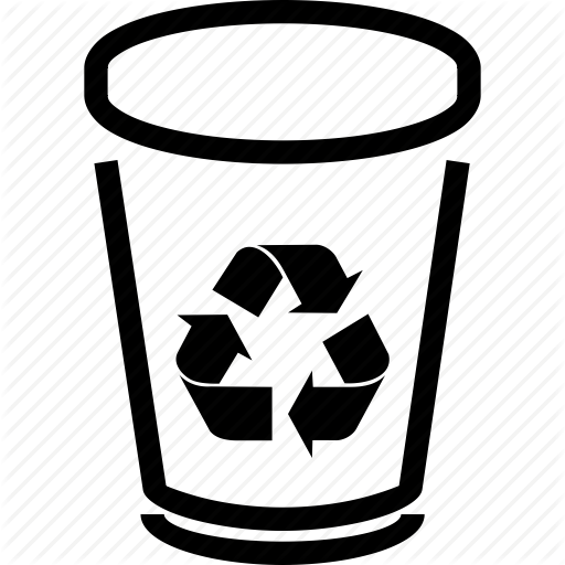 Trashcan Vector Transparent Png Clipart Free Download
