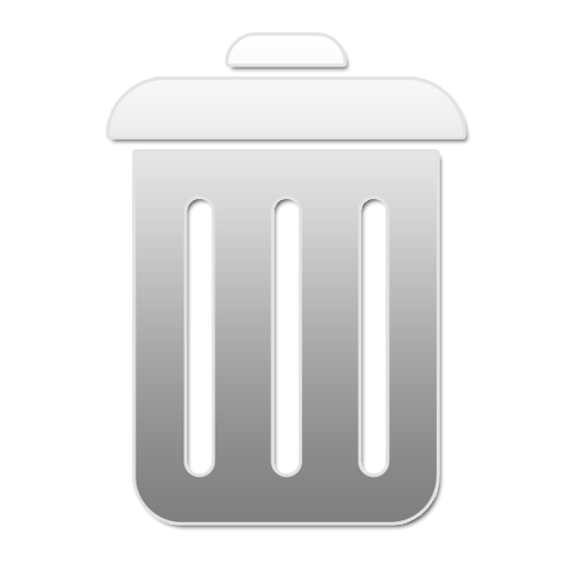 Empty, Recycle Bin, Closed, Trash, Blank Icon