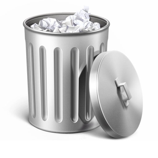 Trash Can Icon Trash Png Icons, Recycling Bins
