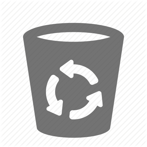 Bin, Can, Delete, Empty, Litter, Recycle, Trash Icon