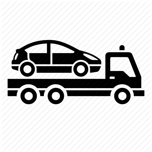 Car Delivery, Car Services, Tow Truck Icon
