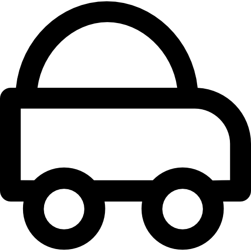 Car Icon Logistic Delivery Icon Collection Vectors Market