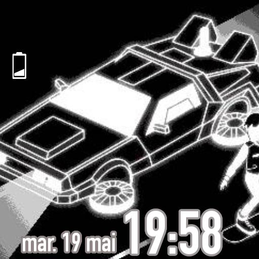 Delorean For Smartwatch
