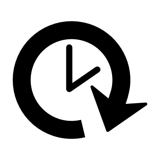 Clock Forward Free Vector Icons Designed