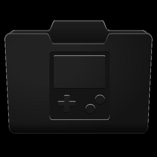 Black Games Icon