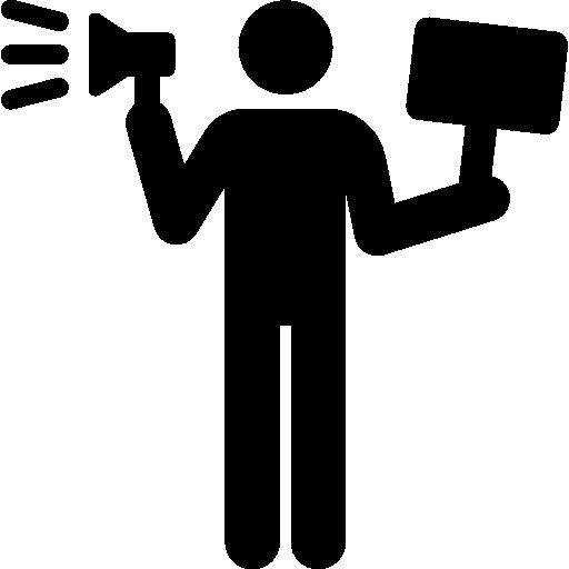 Demonstration, People, Loud, Speaker, Shouting, Volume, Shout Icon