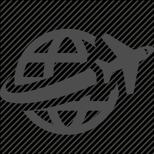 Logo Inspiration Globe Icon, Travel Symbols