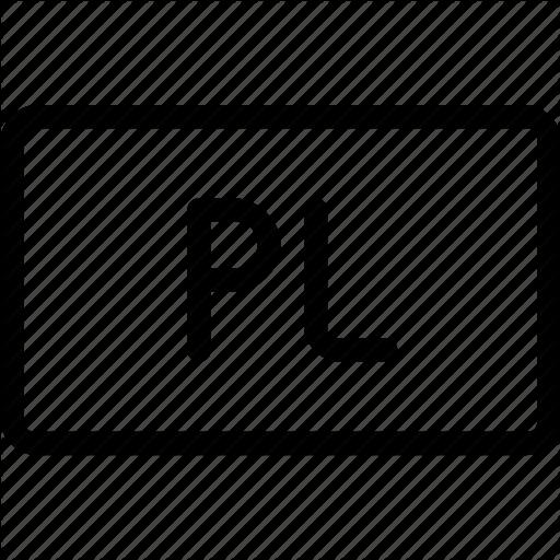 Code, File, Files, Pl, Programming Icon