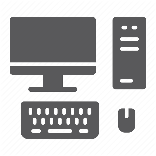 Computer, Desktop, Display, Monitor, Mouse, Pc, Technology Icon