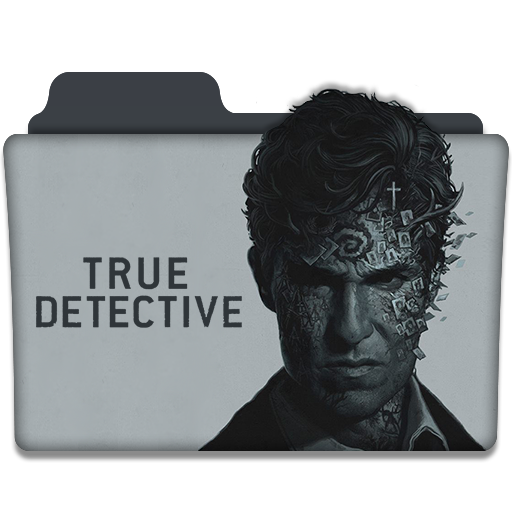 True Detective Tv Series Folder Icon