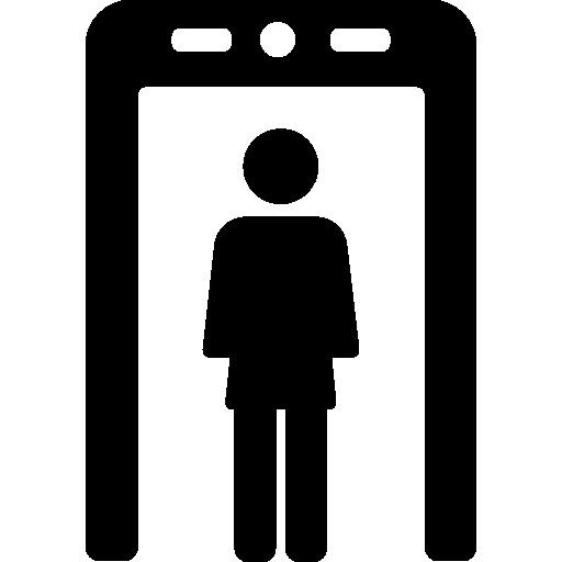 Metal Detector Gate Icons Free Download