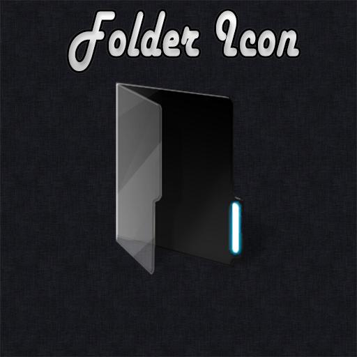 Dark Folder Icon