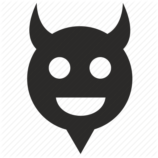 Devil, Feel, Hell, Like, Smile Icon