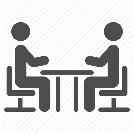 Chat, Communication, Dialog, Meeting, Speech, Table, Talk Icon