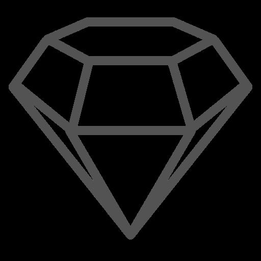 Precious, Diamond, Stone, Jewel, Brand Icon