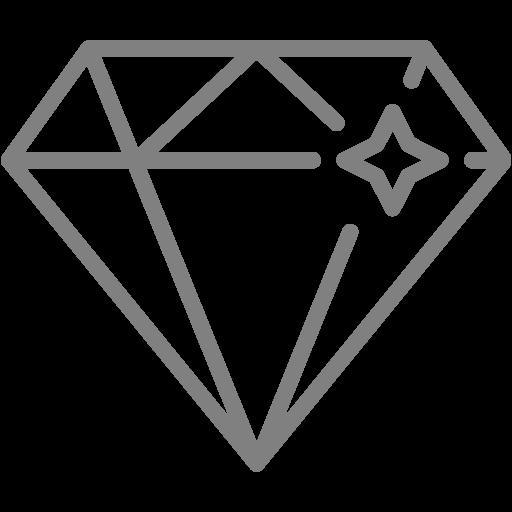 Gray Diamond Icon