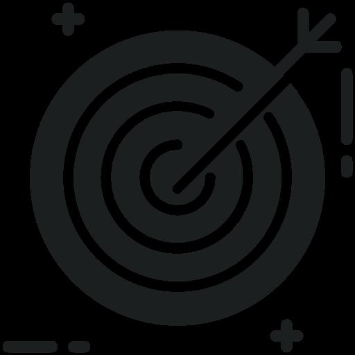 Icono Objetivo, Diana, Target Gratis De Digital Marketing