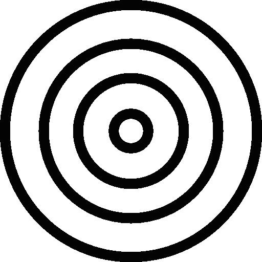 White Bullseye