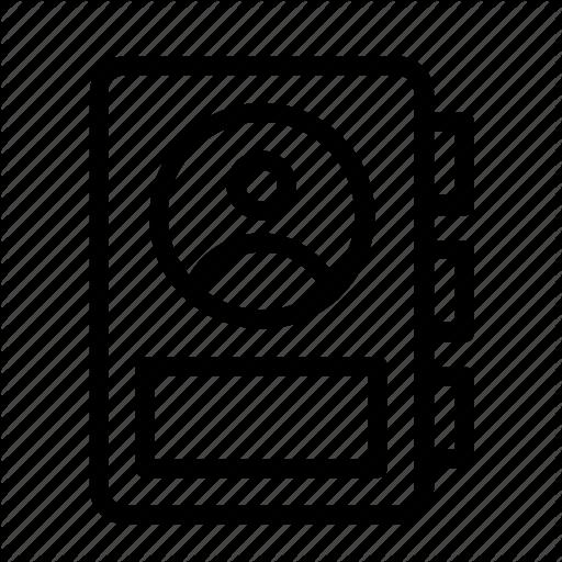 Account, Diary, Icon, User Icon