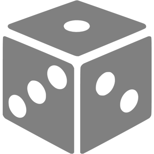 Gray Dice Icon
