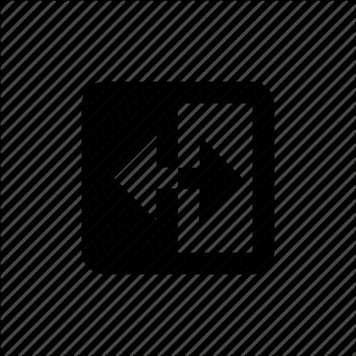 Copy, Direction, Mirror, Reflect, Split Icon
