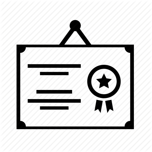 Certificate Icons