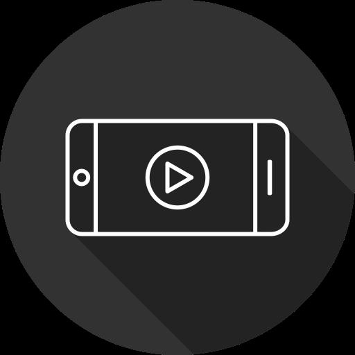 Play, Tube, Video, Media Icon Free Of Digital Marketing Line Art