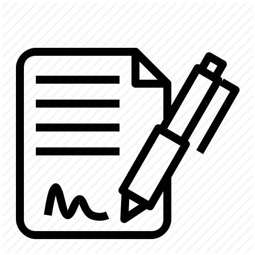 Digital Signature Icon