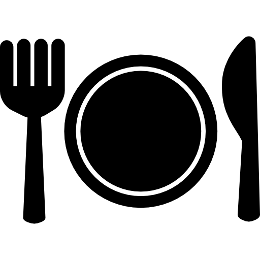 Plate Fork And Knife Icons Free Download