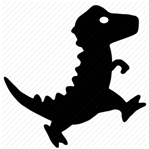 Dino, Dinosaur, Dragon, Small, Walk Icon