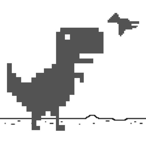 Mr Dino Steve Super Jumping Dinosaur Widget Game