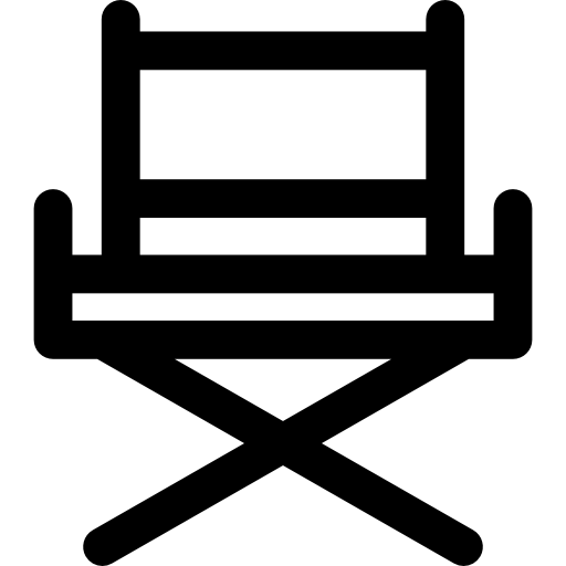 Director Chair Icons Free Download