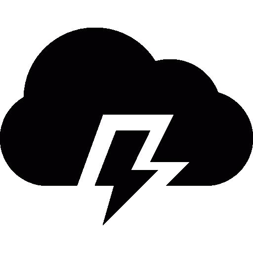 Lightning Bolt Storm Pronostic Icons Free Download