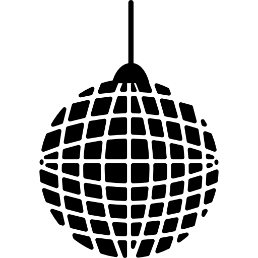 Grid Disco Ball Icons Free Download