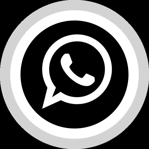 Social, Logo, Media, Whatsapp Icon