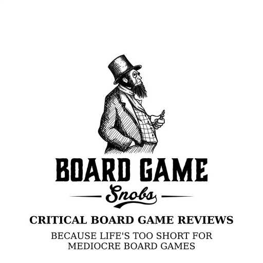 Episode Icon Board Game Snobs Podcast