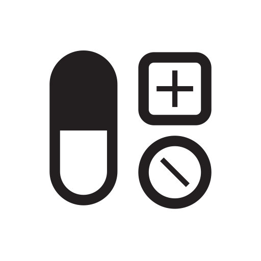 Medical, Capsules, Medicine, Pills, Fitness, Disease Icon