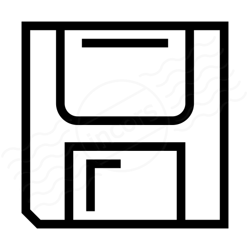 Iconexperience I Collection Floppy Disk Icon