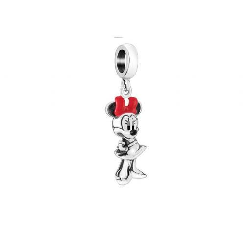 Chamilia Disney Minnie Figural Red And Black Enamel