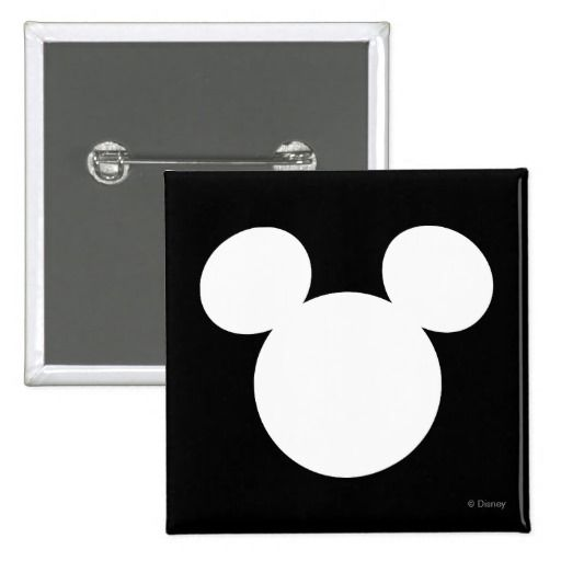 Disney Logo White Mickey Icon Button Disney Logo, Icons And Logos