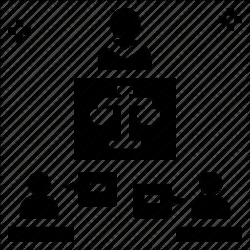 Appeal, Conciliate, Court, Dispute, Mediation Icon