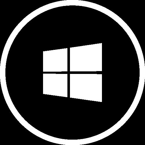 Icon Windows White