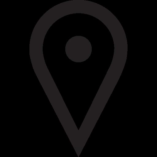Area, District, Location, Position, Region, Site, Spot Icon