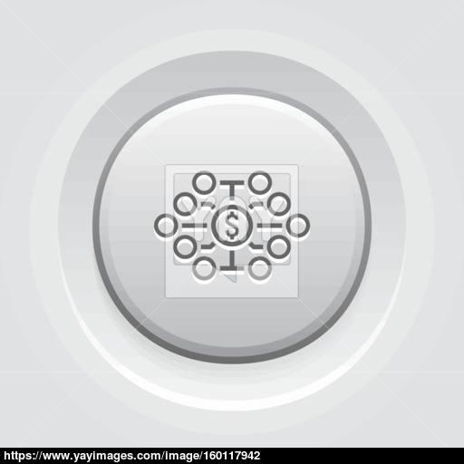 Investing Diversification Icon Vector