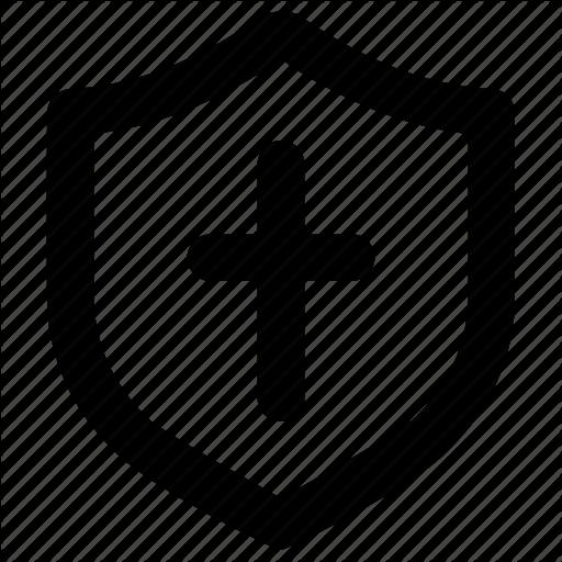 Divine, Protect, Shield Icon