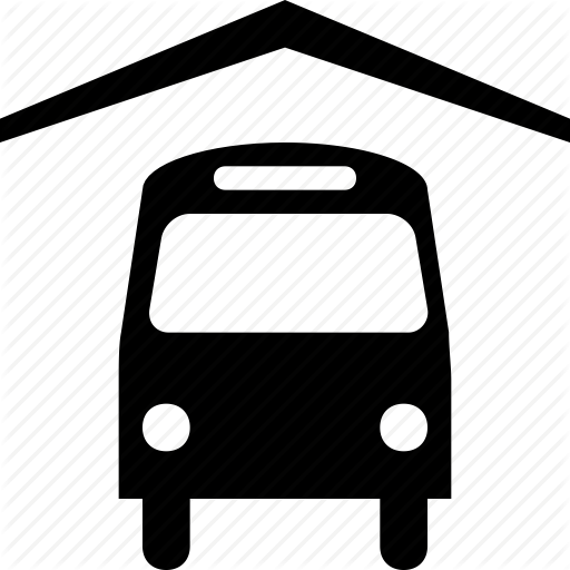 Bus, Public, Station, Transport Icon