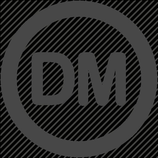 Dem, Deutsche Mark, German, German Mark, Mark Icon